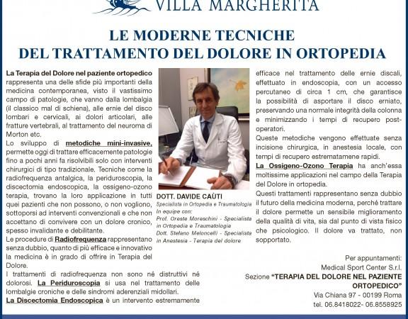 2014.06.17_articolo_Dott.Cauti_dolore in ortopedia
